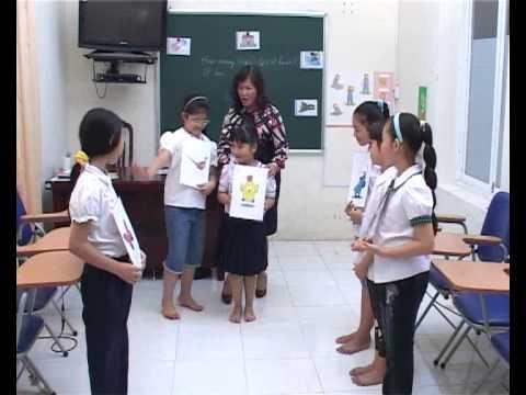 Phương pháp giảng dạy tiếng Anh cho trẻ em - Bài 5