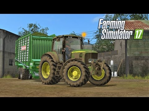 Farming Simulator 2017 | GRASS SILAGE | The Old Stream Farm | Episode 13
