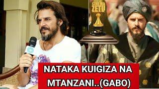 Shahzade Mustafa /Muigizaji Wa Tamthilia Ya Sultan /Usiku wa Tuzo Azam Tv