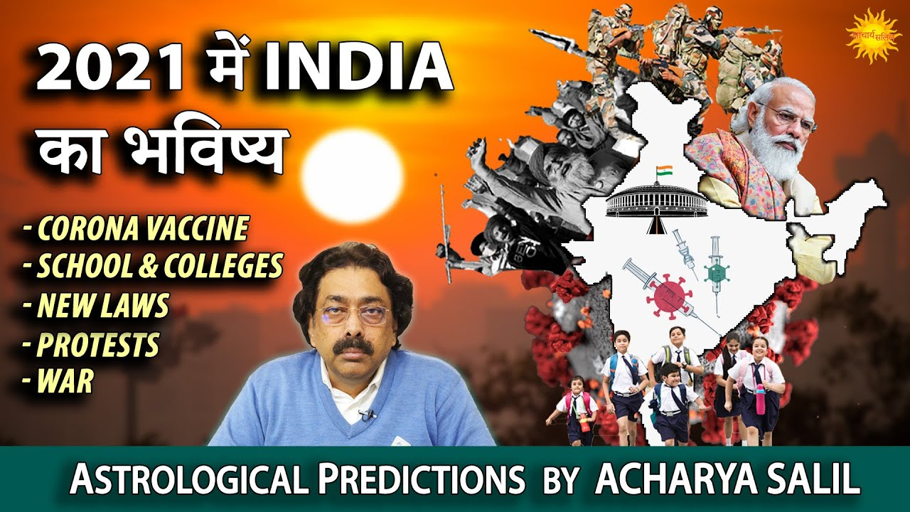 Astrological Predictions for India for Year 2021 | Acharya Salil