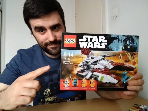 Heti videó: 20# Lego Star Wars - 75182 Republic Fighter Tank