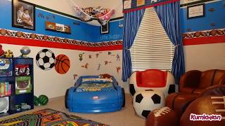 Kids Sports Room Decor