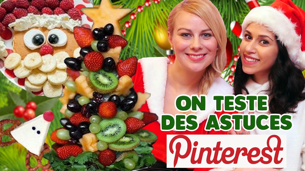 On teste des astuces no l pinterest ft flashbeaut for Pinterest cuisine noel