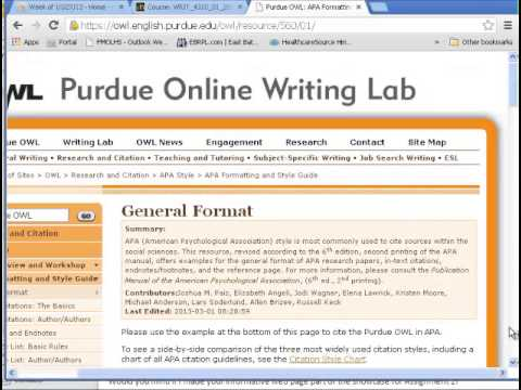 Preliminary Bibliography Screencast  Youtube Preliminary Bibliography Screencast