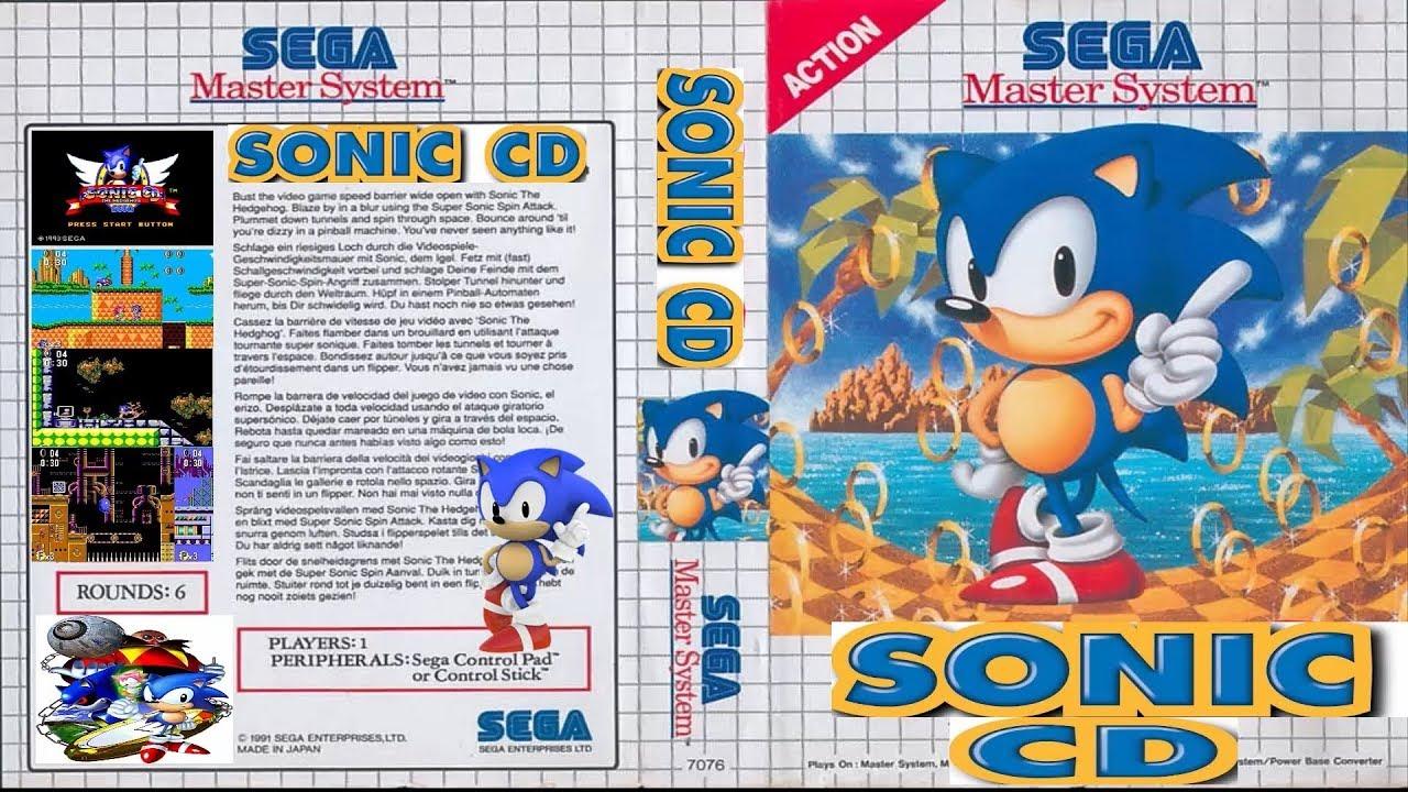 Sonic CD Para Master System