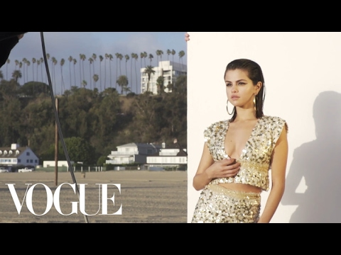 Selena Gomez Goes Behind the Scenes With Vogue