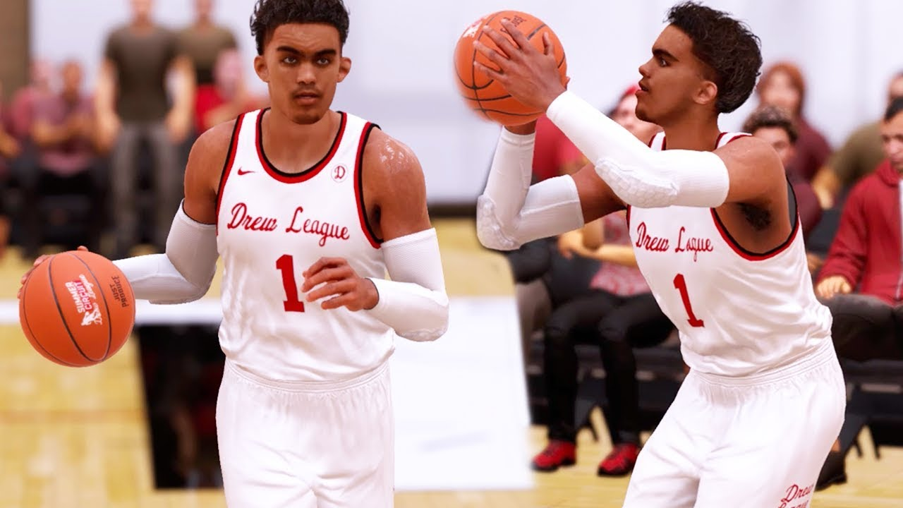 NBA 2K18 TRAE YOUNG MY CAREER : DREW LEAGUE GAME! CHAPTER 1