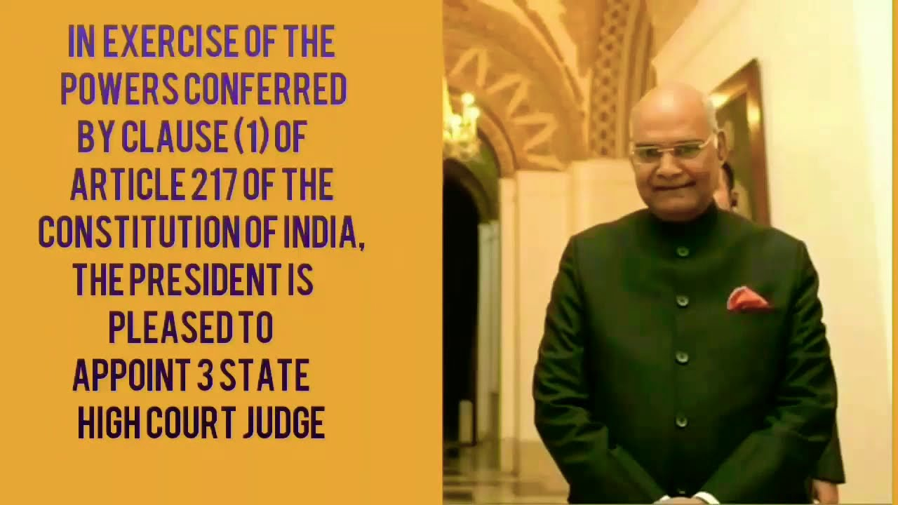 New Appointment 3States High Court Chief Justice || JUN 2019