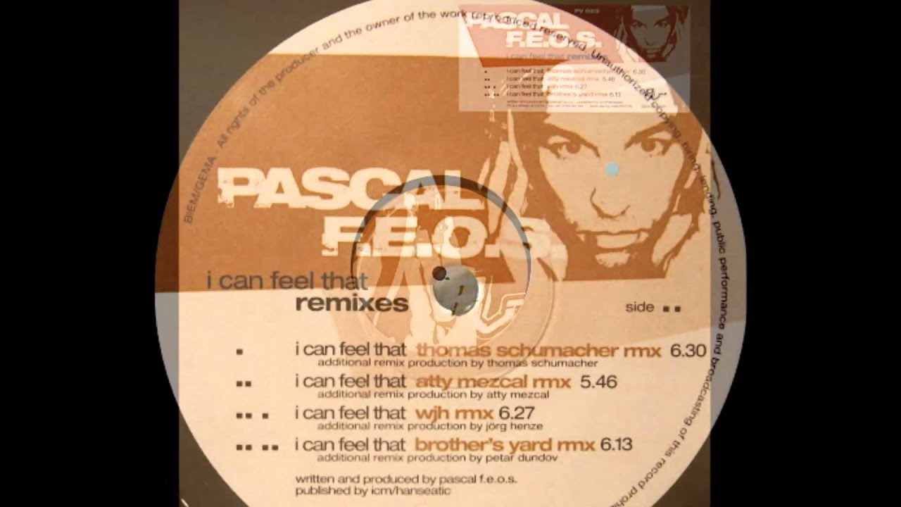 Download Pascal F.E.O.S. - I Can Feel That (Brothers Yard Remix)