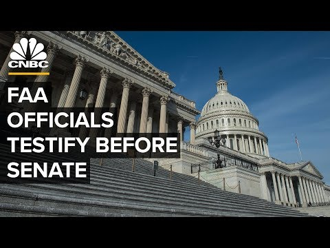 Senate holds hearing on oversight of Federal Aviation Administration – 07/31/2019