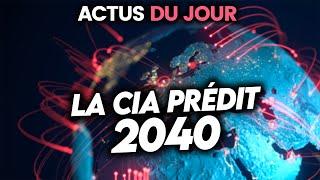 La CIA prédit votre avenir, ouverture de la v🅰️ccination à tous, Facebook payant... Actus du jour