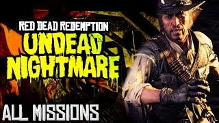 Red Dead Redemption: Undead Nightmare - All Missions Marathon (Xbox One)