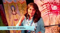Subasta de la artista otavaleña Nuria Rengifo Dávila  en la Sala Mandrágora