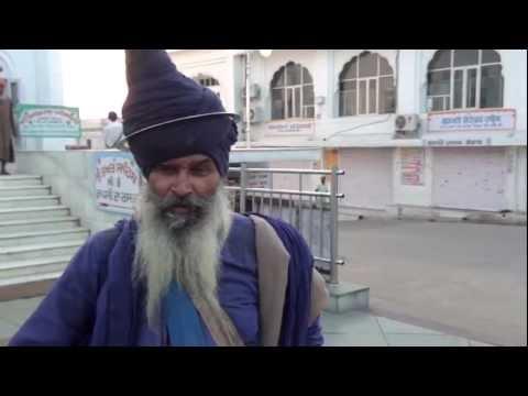 Nihang Singh interview at Sri Anandpur Sahib, Punjabi