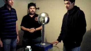Electrostatic Motor using soda bottle