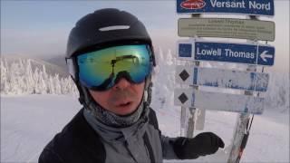 Ski VLOG à Mont Tremblant - 8 janvier 2017 - GoPro