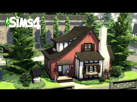 Spark'd | Half Timbered Cottage | No mods/CC | The Sims 4 | Machinima | Stop Motion