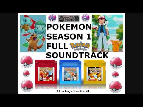 Pokemon Season 1 Soundtrack OST [Full]