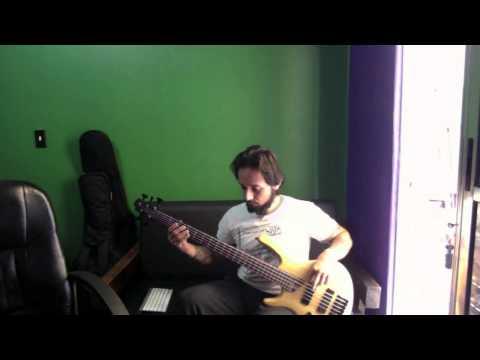 Poisonblack - Me, Myself & I - bass cover