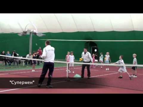 Tennis air dome in Russia