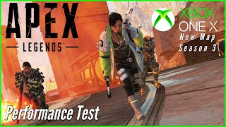 Apex Legends - Xbox One X New Map Performance Test - More FPS Drops? (Season 3)