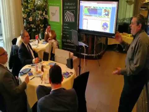 Charlie Razenson Unique Impressions Marketing BOOM Melville Long Island Business Networking (2.3.16)