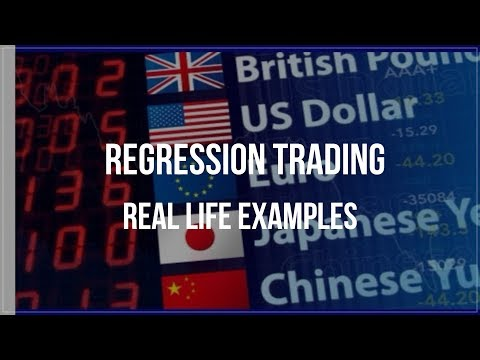 Real Life Trades With Regression Channels