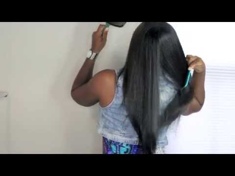 Natural Hair Co-Wash, Moisturize and GO!!!!! Routine/Demo |SHLINDA1 from YouTube · Duration:  5 minutes 27 seconds