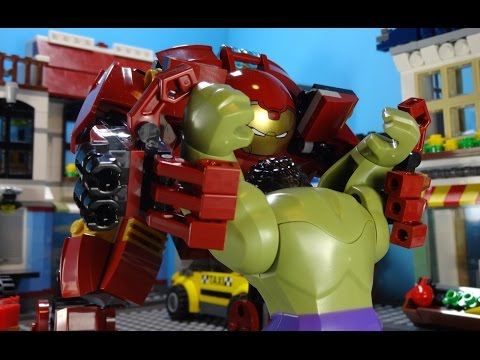 LEGO AVENGERS: AGE OF ULTRON - Stop Motion