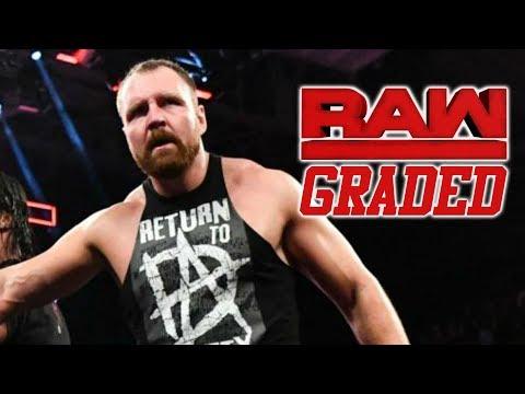 WWE Raw: GRADED (13 August) | Dean Ambrose Returns