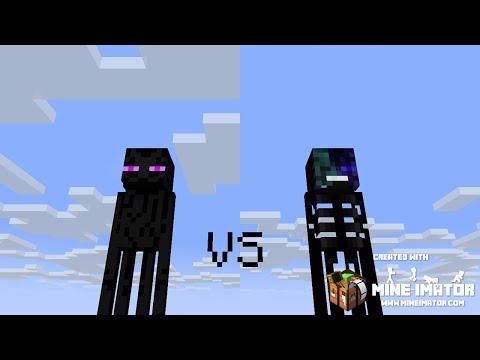 Endie Vs EnderWither Minecraft Animation (Willcraft's Monster School Vs KrmStudioz's Monster School)