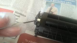 Hp laserjet m130a m134a pickup roller changing