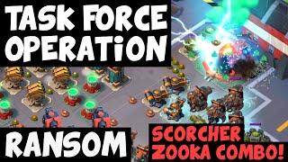 Ransom ✦ Epic Smokey Sooka Tactic! ✦ Massive Attack ✦ Boom Beach