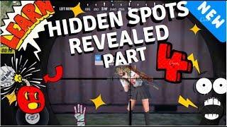 More Hiding Spots REVEALED! PART 4! Rules of Survival