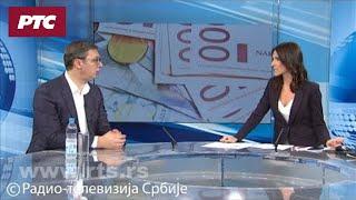 Vučić za RTS: Da su nas ostavili na miru, možda bismo se i dogovorili sa Albancima