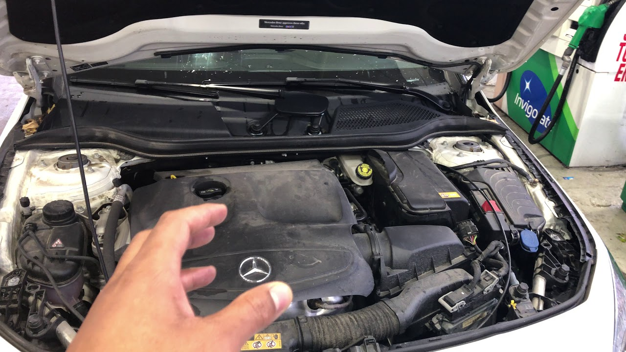 POSITIVE TERMINAL ON BATTERY Mercedes Benz CLA YouTube