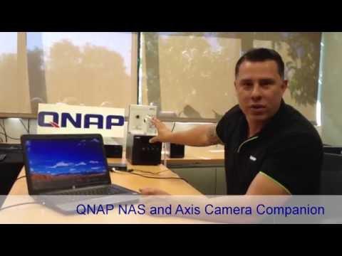 Setting up a QNAP NAS and Axis Camera Companion