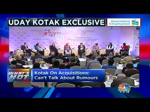 Uday Kotak Exclusive