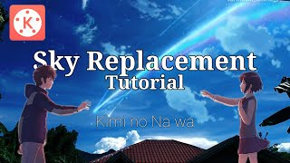 Download lagu Sky Replacement | Tutorial | Kimi no Na wa | Kinemaster