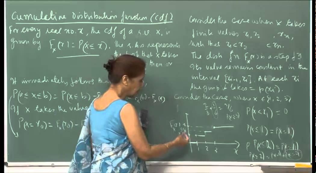 Mod-01 Lec-05 Discrete random variables and their distributions