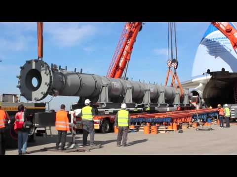Malpensa: Antonov AN-225 Mriya - 31 March 2012 / 1 Reactor 130 tons from Italy to USA