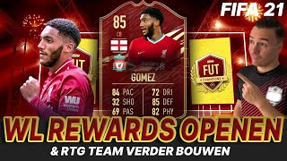 LIVE FIFA 21 |  TOP 200 REWARDS & ELITE 2 REWARDS OPENEN + RTG TEAM BOUWEN!