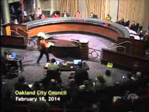 February 18, 2014 Oakland City Council Meeting on Oakland's Domain Awareness Center