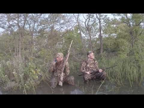 Texas Duck Hunting - Season 1: Episode 2 - Flooded Early Teal