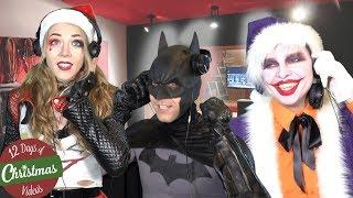 Batman, Iron Man, Joker SUPERHERO CHRISTMAS CAROLS...