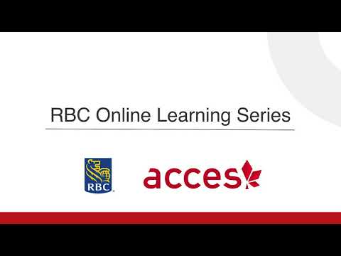RBC Video  - Example of How to Network Online
