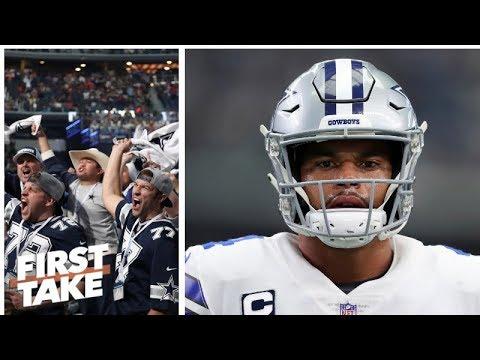 Dallas Cowboys have a \'delusional fanbase\' - Max Kellerman | First Take