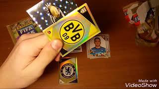 "BOX OPENING 5/10 { } Открытие 5-и пачек ""FIFA 365"" 2018 Panini"