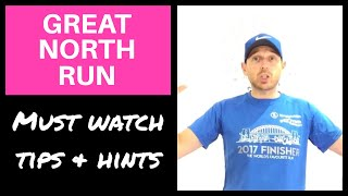 GREAT NORTH RUN TIPS: Running The Great North Run (2017)