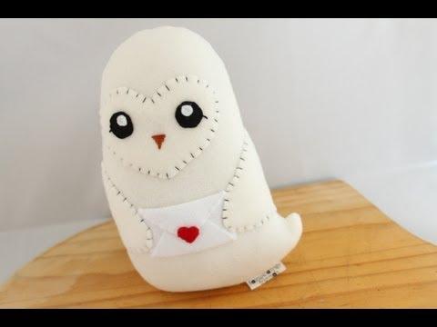 Making a Hedwig Plushie